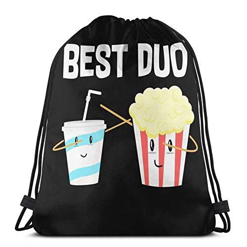 Popcorn salato o sudore per il tuo cinema Avventura cinematografica1 Zaino sportivo Zaino con coulisse Borsa da palestra Sacco