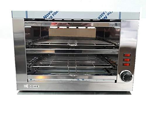 Tostador pan profesional, dos pisos con temporizador, especial hosteleria