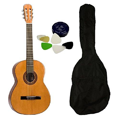 Hochwertiges Konzertgitarren-Set für Einsteiger und Fortgeschrittene - spanische Konzertgitarre