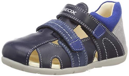 Geox B Kaytan B, Zapatos de Primeros Pasos, Azul (Navy/Avio C0700), 25 EU