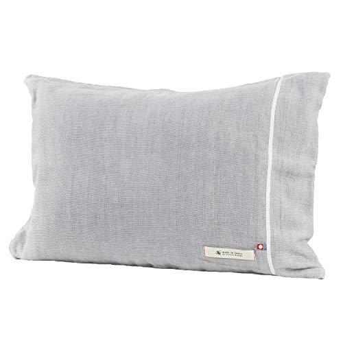 ブルーム 今治タオル 認定 ビレア ピローケース 5重ガーゼ 枕カバー 綿100% やわらか ガーゼ生地 日本製 (グレー)