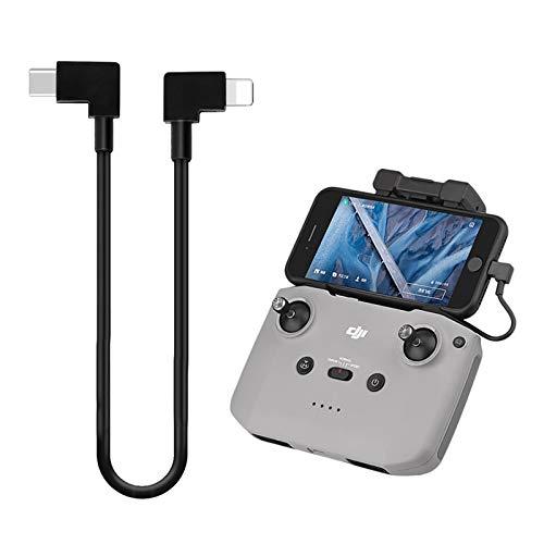 iEago RC Type C a iOS, cavo dati da telecomando, cavo su cellulare/tablet, compatibile con DJI Mavic Air 2/Mini 2/DJI Osmo Pocket/Osmo Pocket 2