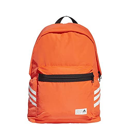 adidas CL BP 3S Zaino, Rosso/Bianco (Multicolore), taglia unica Unisex-Adulto