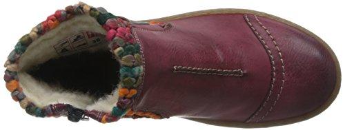 Rieker Women's Rambler Knit Panel Ankle Boots 36 M EU/ 5.5-6 B(M) US Wine