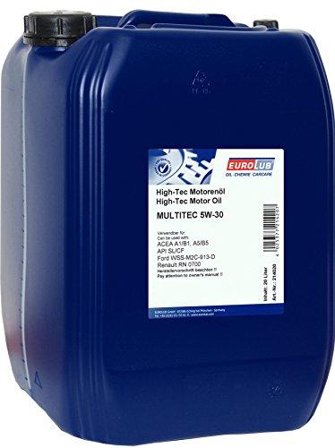 EUROLUB MULTITEC SAE 5W-30 (Ford) Motoröl, 20 Liter