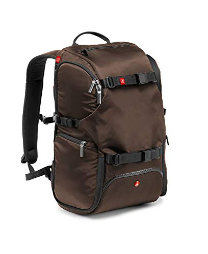 Manfrotto Travel Backpack - Mochila, Marrón