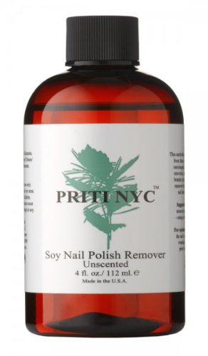 Soy Nail Polish Remover Unscented 4 fl. oz.