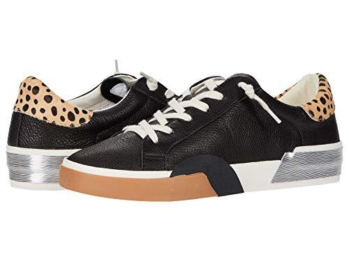 Dolce Vita Women's Zina Sneaker, Black Multi Leather, 10