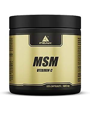 PEAK MSM (Methylsulfonylmethan) - 120 Kapseln à 1000mg