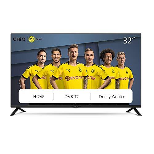 CHiQ Televisor 32 Pulgadas HD, 2 x HDMI, USB, HD, Sintonizador Triple (DVBT / T2 / C / S2) - L32G4500
