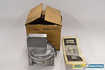 HONEYWELL V88A1634-3 Gas 24V 1-1/2 in NPT Aluminum Diaphragm Valve B338296 by HONEYWELL