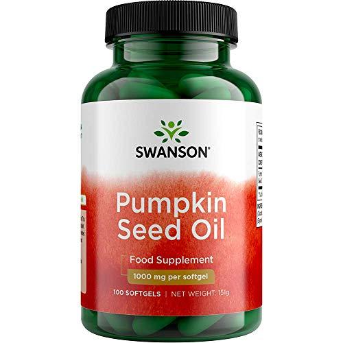 Swanson Aceite de Semilla de Calabaza 100 Cápsulas Blandas 100 g