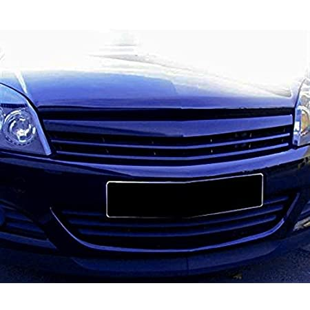 Kühlergrill Sportgrill Waben Gitter Opc Look Chrom Schwarz Fahrzeugspezifisch Auto