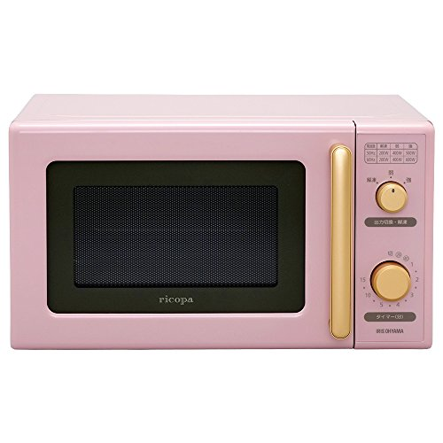 "IRIS OHYAMA Micro Wave Ovens""ricopa"" IMB-RT17-PA (Ash Pink)【Japan Domestic genuine products】"