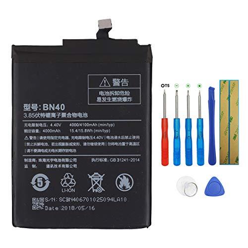 Swark Batería BN40 compatible con Xiaomi Redmi 4 Pro con herramientas
