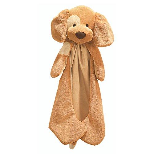 "Baby GUND Spunky Huggybuddy Stuffed Animal Plush Blanket, Beige, 15"""