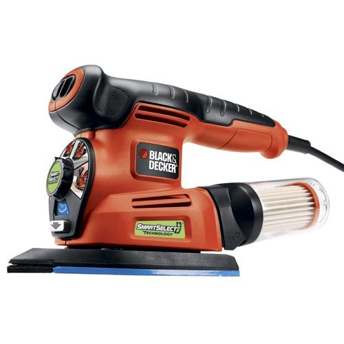 Black + Decker MS2000 4-in-1 SmartSelect – Lijadora Múltiple 4 en 1