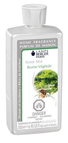 Forest Mist - Lampe Berger Fragrance Refill for Home Fragrance Oil Diffuser - 16.9 Fluid Ounces - 500 milliliters