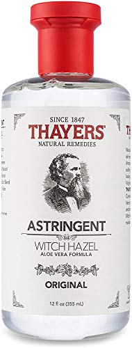 Thayers Original Witch Hazel Astringent with Aloe Vera, 12 ounce bottle