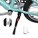 SEISSO Bike Kickstands Center Mount for 16 18 20 Inch Bicycles Adjustable Aluminum Alloy for Kids Adult Mountain Bike Road Bike