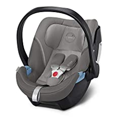 CYBEX Gold Baby Carrier Aton 5, Incl. pasgeboren insert, vanaf de geboorte tot ca. 18 maanden, Max. 13 kg, Soho Grey*