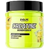 Evolite Nutrition Creatine Monohydrate 1er Pack x 500g Kreatin-Monohydrat-Pulver - Ergänzung für...