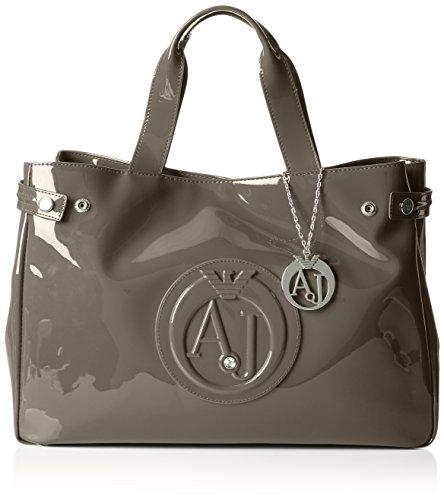 Armani Jeans Damen 922591CC855 Shopper, Beige (TAUPE 07753), 26x14x40 cm