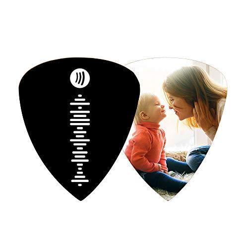 Púas de Guitarra de Spotify de música Personalizada con Foto Código de...