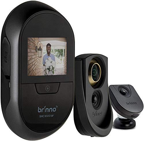 Brinno Duo Front Door Peephole Camera SHC1000W