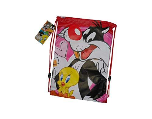 Looney Tunes, Set de Sac Scolaire Enfant Homme Rose