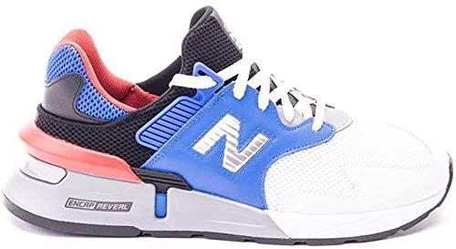 New Balance 997J Sport V1, Zapatillas Deportivas. Hombre, Vivid Cobalt Glow-Cedro, 52 EU