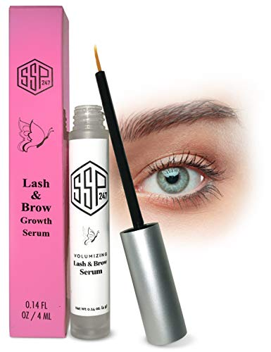 Eyebrow growth serum - Grow longer and fuller eyelashes and eyebrows. Lash boost for women with this lash growth serum treatment. Also a brow...