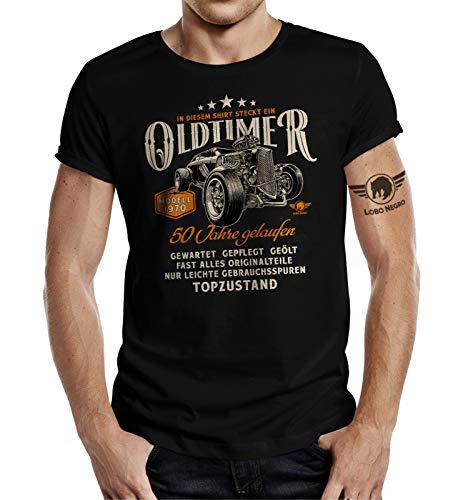 Geschenk T-Shirt zum 50. Geburtstag - Oldtimer Baujahr 1970 Hot Rod XL
