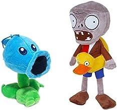 "Toyswill Plants Vs Zombies Stuffed Plush Toy 11"" Tall - Ice Peashooter 6.7"" Tall"