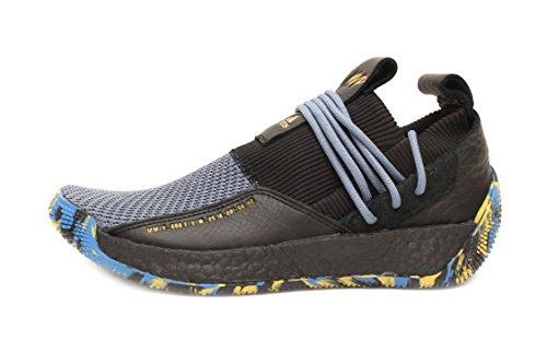 adidas Harden LS 2 Lace MVP Men's Basketball Shoes (13, Core Black/Gold Metallic/Steel)