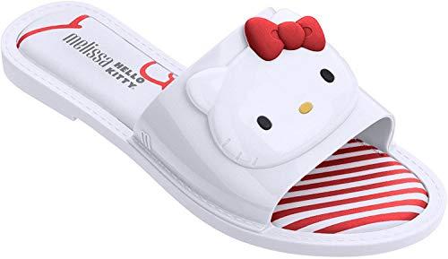 Melissa Shoes Slipper + Hello Kitty AD White 7 M