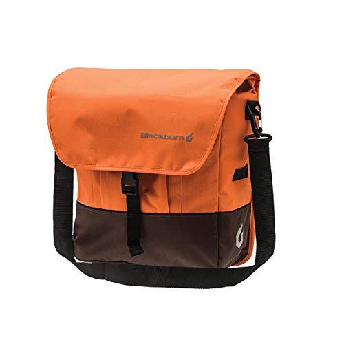 Blackburn Local Rear Pannier Sac Mixte, Orange/Marron, Taille Unique