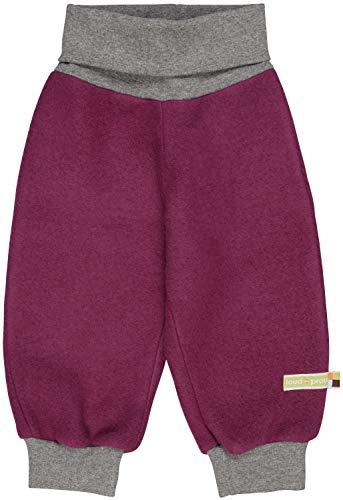 loud + proud Baby und Kinder Hose aus Bio Woll-Fleece (kbT) in Größe 98-104