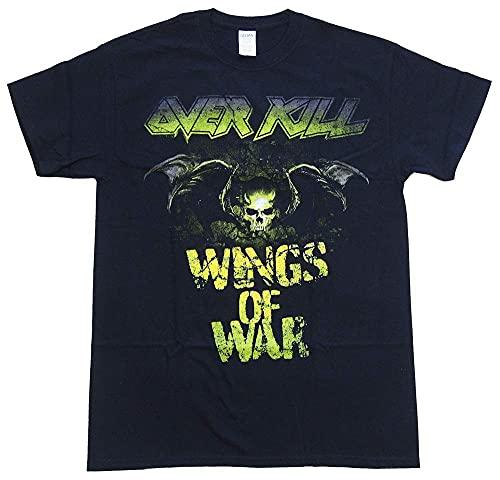 オーヴァーキル・OVERKILL・BAT SHIT CRAZY・ Tシャツ プリントTシャツ 夏服 トップス 半袖 無地 通気性 ファッション ゆったり 男女兼用