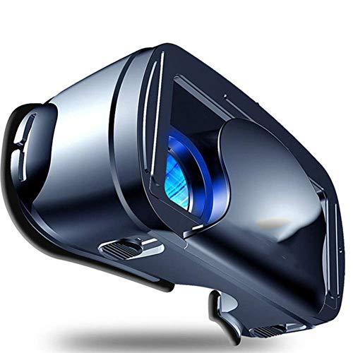 HEWE VR Brille, Vollbild-Sichtweitwinkel 120 Grad VR Brille für 5 bis 7-Zoll-Smartphone Geräte für iPhone und Android-Telefon (Schwarz)