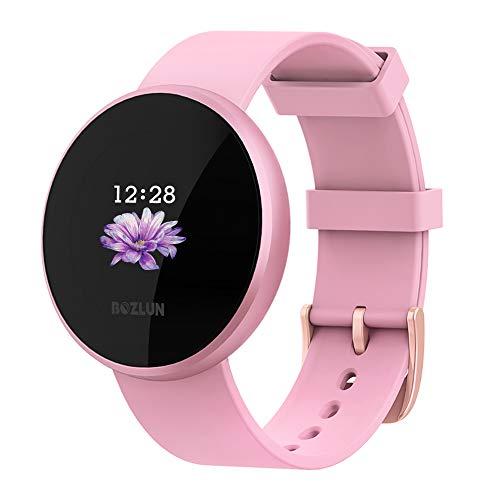 Reloj Inteligente BOZLUN para Mujeres con Monitor de Actividad física, Monitor de Ritmo cardíaco con Pantalla a Color, Impermeable a...