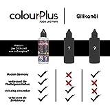 colourPlus® Silikonöl - 82ml - Siliconöl für Pouring - Cell Creator - Silicon Oil - Silikonöl Pouring - Made in Germany - 6