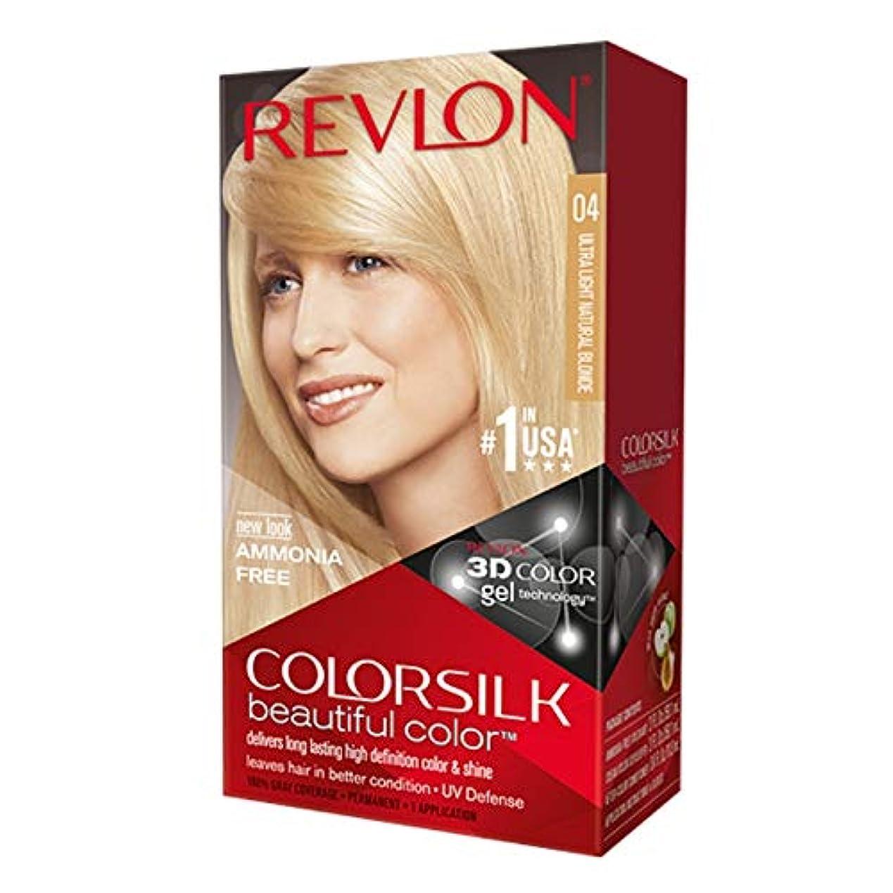 スリル側面批判的にRevlon Colorsilkの#04 ULT-LTナットBLND