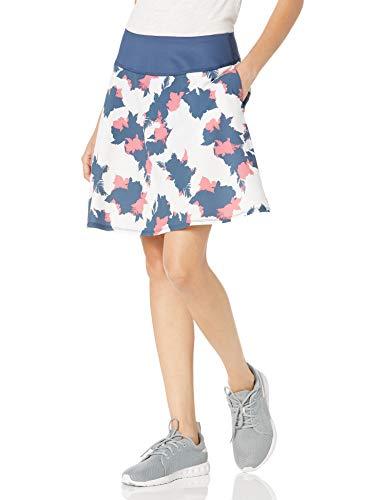 PUMA Falda Floral Pwrshape 2020 para Mujer 18 Pulgadas Skort, Mujer, Falda pantalón, 595855x18, Vaquero Oscuro, XXL