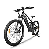 Bicicleta eléctrica para adultos 750W 48V 26' Neumático Bicicleta eléctrica, Bicicleta de montaña eléctrica con batería extraíble de 17.5Ah, Engranajes profesionales de 21 velocidades