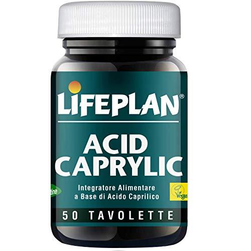Lifeplan Caprylic Acid 500Mg 50 Tablets 1Er-Pack 260 Gr