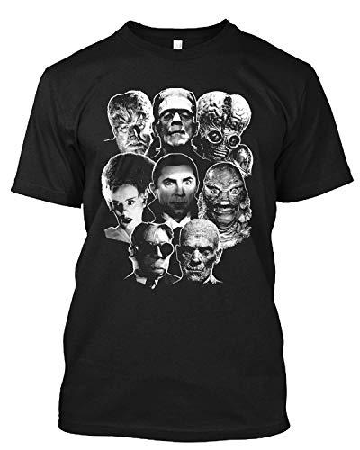 Universal Monster Gang Andy Warhol Pop Art Horror Terror Thriller Zombie T Shirt Gift tee