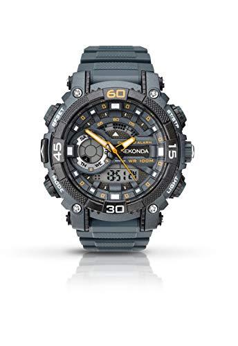 Sekonda Watches Reloj de pulsera 1349.05, Gris/Gris