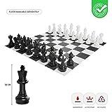 Ubergames Giga - Juego de ajedrez (30 cm, resistente al agua y a los rayos UV)