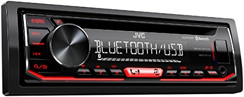 JVC KD-R792BT CD-Receiver Autoradio, met Bluetooth-Handsfree-Functie en Audiostreaming, Zwart